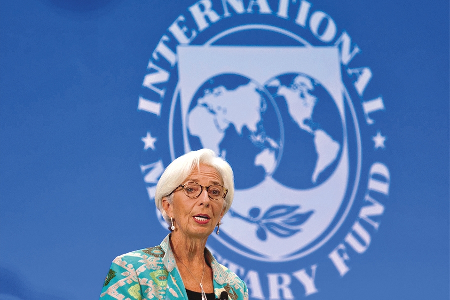 The International Monetary Fund (IMF) managing director